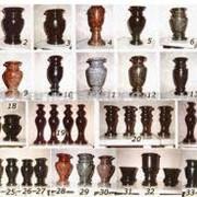 Изготовление ваз из гранита разнообразных форм и размеров фото
