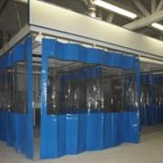 Шторы для автомоек, промышленные шторы, складские шторы фото