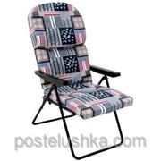 Кресло шезлонг Фридрих хлопок фото