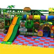 Лабиринт детский игровой 60 м2 фото