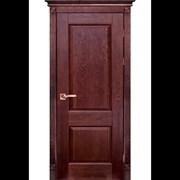 """Дверь из массива дуба """"Классик 4"""" фото"""