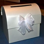 Свадебный сундук для денег с откидной крышкой фото