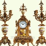 Часы каминные K. Mozer Н2/5640+Н5/5541 фото