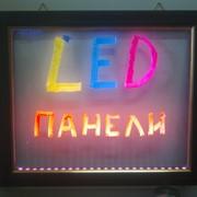 Sparkle Neon Board - светодиодная доска фото