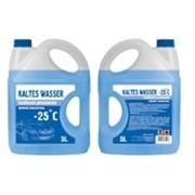 """Незамерзающая жидкость """"Kaltes Wasser"""" -25 5L, blue фото"""