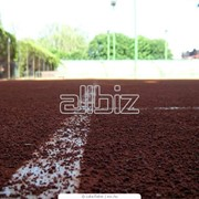 Укладка спортивных покрытий для теннисных кортов фото