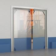 Плёночные маятниковые двери фото