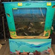 Торговые аквариумы для продажи живой рыбы на заказ фото
