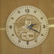 Часы деревянные Линия Сталина фото