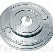 Серебристая пластиковая розетка D=14 мм, артикул FL 0440 14 фото