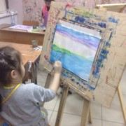 Детская живопись от 2,5 лет фото