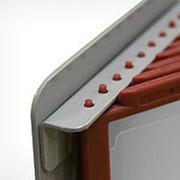 DATALINE А4 основание для настенной перекидной системы, 10 рамок (металл) фото