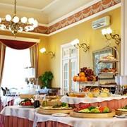 Ресторан в гостиннице фото