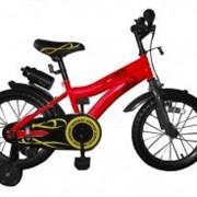 Велосипед двухколёсный Swallow - Red/вlack BabyHit. фото