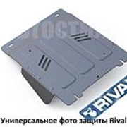 Защита КПП и РК Rival для BMW 3 (2012-...) алюминий фото