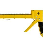 Пистолет для герметиков с трещеткой 225мм (полузакрытый) sigma 2723081 фото