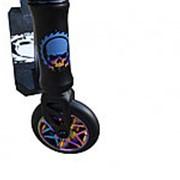 Трюковой самокат Ateox SAW 2020 чёрный матовый для подростков фото