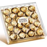 Конфеты Ферреро Роше (Ferrerro Rocher) шоколадные с кремовой начинкой и лесным орехом, 300г фото