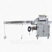 Горизонтальная упаковочная машина с нижней подачей пленки ФЛМ 5000. фото