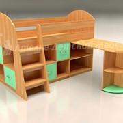 Детская Кровать - Чердак Умка-33 фото