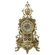 """Бронзовые каминные часы """"КАФЕДРАЛ НОВО"""" 21х41см. арт.BP-27085-D Belo De Bronze фото"""