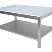 Столы производственные и разделочные фото