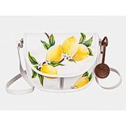 Кожаный клатч «Lemon Tree» фото
