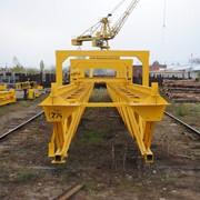 Купить кран козловой контейнерный от 25-ти тонн,Москва .Восточная сибирь.западная сибирь фото