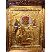 Изготовление икон из золота фото