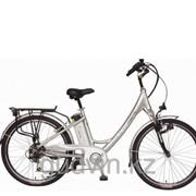 Велосипед с электродвигателем Geoby S100 (7605 Silver) фото