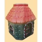 Аромалампа керамическая Хатка роспись фото