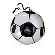 Санки ватрушка Футбольный мяч 100 см фото