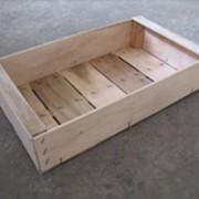 Ящик (проволокосшивной 500х300мм) Количество дощечек: 1 фото