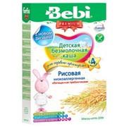 Бэби каша низкоаллергенная рисовая с пребиотиками б/м (с 4 мес) 200г фото