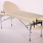 Трехсекционный складной алюминиевый стол LUX фото