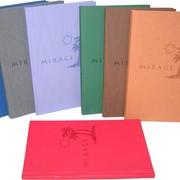 Бумага переплетная, Бумаги на латексной основе с акриловым покрытием на водной основе ECO COVER, EXCWL, LUMINA, MATADOR, MIRAGE, RADIANCE фото