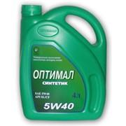 Моторное масло Оптимал Синтетик фото