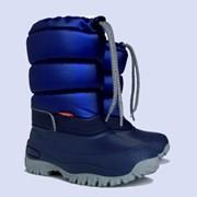 Сноубутсы сапоги зимние Demar Lucky синие, коричневые, чёрные Код: К1215 фото