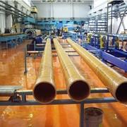 Трубы стеклопластиковые для транспортировки минеральных кислот малых и средних концентраций фото