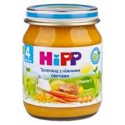 Пюре Hipp 125г Телятина с нежн овощами,с 4мес фото