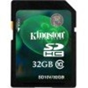 Карта памяти Kingston 32 GB SDHC Class 10 SD10V/32GB фото