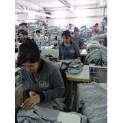 Пошив и окрашивание одежды фото