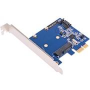 PCI-E на SATA3 контроллер 2 внутренних SATA и mSATA Orient A1061MS до 6TB чип ASM1061 фото