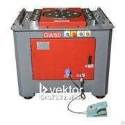 Гибщик арматуры Vektor, cтанок для гибки арматуры GW50 4 кВт. фото