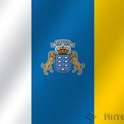 Флаг национальный Канарские острова фото