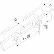 Цепи тяговые (для участка ножниц) пластинчатые разборные со сплошными осями (валиками) для металлургических предприятий, горнодобывающей промышленности и химических заводов фото