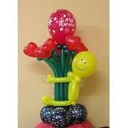 Оформление свадьб воздушными шарами в Харькове, гелиевые шарики от 4 грн, букеты с гелиевых шариков доставка по Харькову, работаем без выходных. фото
