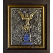 Икона Ангел Хранитель с золочением фото