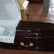 Элитный гроб шестигранник фото