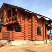 Строительство деревянных домов, бань на основе сруба! фото